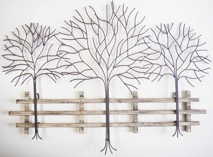 Metal tree wall art gallery for Tree wall art