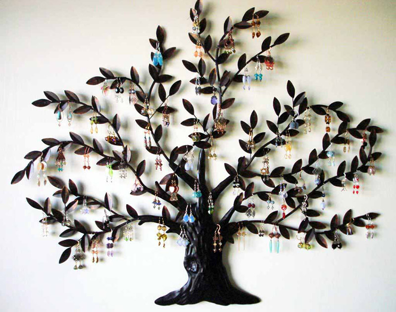 metal tree wall art gallery. Black Bedroom Furniture Sets. Home Design Ideas